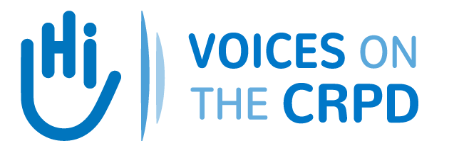 Voices on the CRPD Retina Logo